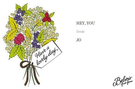 have a lovely day card belvoir fruit farm
